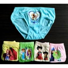 6 Pcs Celana Dalam Anak Perempuan