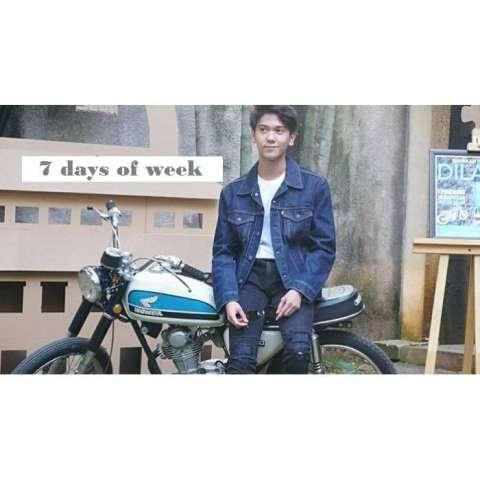 7dayofweek - jaket jeans denim dilan biowash / HOT ITEM
