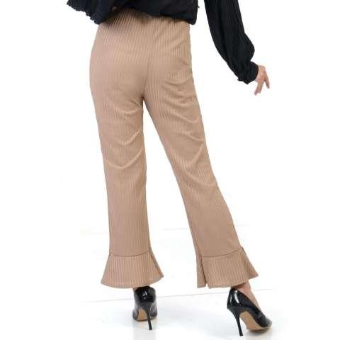 Ace Fashion Axel Cullote Pants - Celana Kulot Wanita - Brown