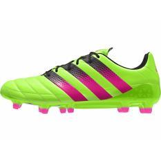 Adidas Men Ace 16.1 Fg Ag Af5099 Green Pink Blck Soccer Cleats