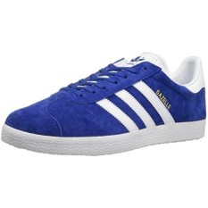 adidas Originals Mens Gazelle Lace-up Sneaker,Collegiate Royal/White/Gold Met,8.5 M US - intl