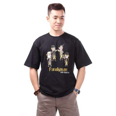 Culture Hero Kaos Distro Keren Budaya Indonesia: Patangpuluhan LS - 3. Source · Adore Kaos Oblong Punakawan The Society