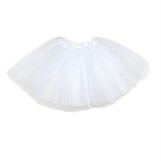 Dewasa Remaja Gadis Tutu Balet Rok Tulle Kostum Fairy Party Hens Night Putih