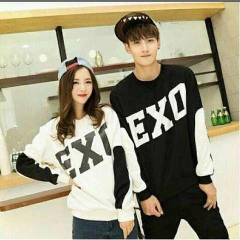AK-308 Couple EXO - Black Akiko Fashion