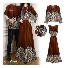 Alasxyashop Baju Couple Rani / Pakaian Kembar / Couple / Couple Muslim / Couple Batik / Kaos Couple / Kemeja Couple / Baju Pasangan / Fashion Couple / Sweater Couple / Kaos Pasangan