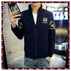 Algren Style Jaket Pria Ars - Hitam