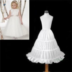 Amart Korean Fashion Kid's Petticoat Crinoline Tutu Underskirts Slip for Bridesmaid Children Girl - intl