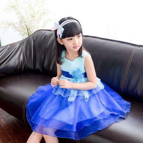 Kepribadian Sifon Tiga Dimensi Busur Blus Tanpa Lengan Rompi Gaun Source · Anak besar perempuan baru gadis rompi rok gaun Rose OE427FAAATV8ASANID 67389419