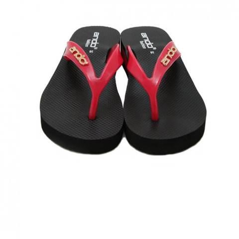 Ando Sandal Jepit Nice Queen Elif Ladies - Hitam
