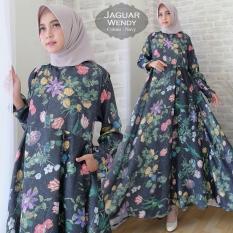 angelin_fashion/gamis muslim wanita gamis jaguar wanita