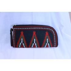 ASOE ACEH SOUVENIR Dompet Mobil Bordiran Pucuk Rubung Merah Hijau Putih  Dompet Wanita