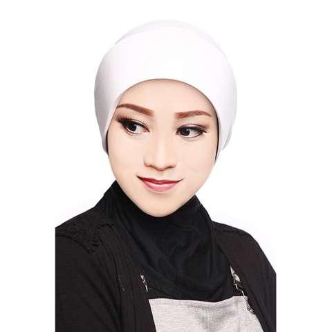 Auzara Hijab - Ciput Marsya - Off White /Mika Antem(Anti Tembem) /