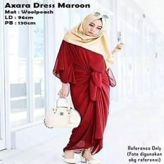 Axara Dress Maroon