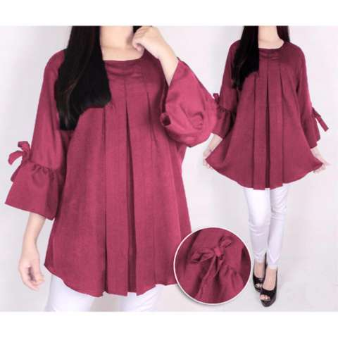 Ayako Fashion Dress Long Sleeve 9123 - (Lavender)