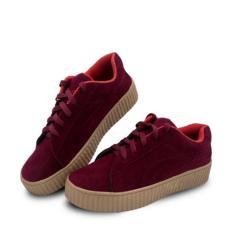 azkashoes Sepatu Wanita PM Mroon