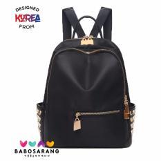 Korean Fashion Style Babosarang Tas Ransel Batam Wanita Backpack Korea Model Fashion Gothic Style BS1