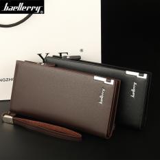 Baellerry Dompet Premium Pria Wanita Panjang SW002 - Coklat