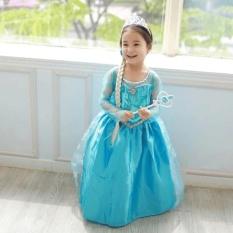 Baju Anak / Gaun Pesta / Dress Frozen Elsa Wing Anna Fashion Kostum Princess Cosplay