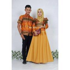 Batik Couple / Baju Batik Sarimbit Princess Jasmine