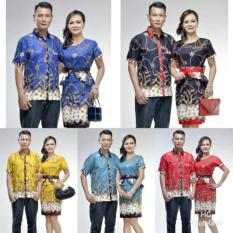 Baju Batik Couple Baju Pasangan Naura Madura Dress