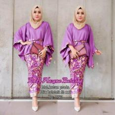 BAJU BATIK DRESS RNB HAZANA BATWING