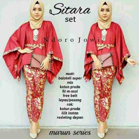 Baju batik pekalongan - Baju muslim - Baju pesta - Ranaya Fashion 4
