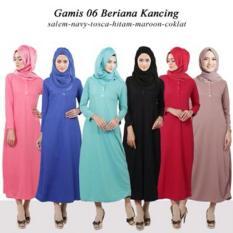 Baju busana muslim wanita gamis dress terbaik