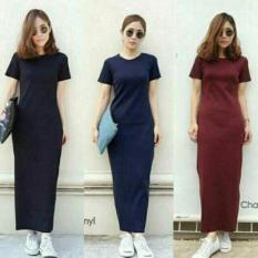 Baju DRESS Wanita Jo & Co Import Uk. M. L. XL - HS Display Colour #Ready Stok