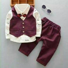 Baju Fashion Import / Stelan Anak Lucu / Baju Pesta Jas Rompi Anak