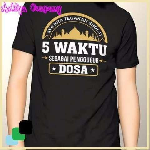 Baju Kaos Cotton Distro Islam Islami Dakwah 16