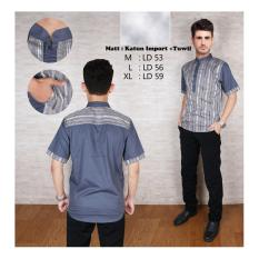 Baju Kemeja Koko Muslim Pria Terbaru Modern Bahan Lembut Dan Adem Tidak Mudah Luntur Terbaru 2018