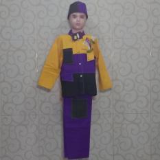 Baju Koko Anak Premium ST08- Kuning
