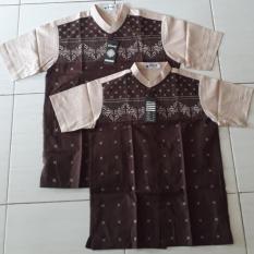 Baju Koko Sepasang Ayah Anak Keren Bordir