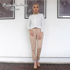 Baju Muslim Original Celana Maldiva Pants Jeans Casual Bawahan Simple Wanita Hijab Modern Trendy Terbaru 2018