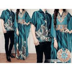 Baju Online - Couple Batik Keluarga Modern Sarimbit Pakaian Wanita Cewek Gamis Muslim Dress Kaftan Terbaru Maxi Maxy Lengan Panjang Pria Cowok Atasan Kemeja Koko Pendek