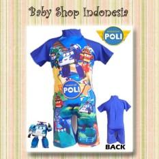 Baju Renang Anak Robocar Poli Swimsuit Diving Anak Baju Renang Anak Murah Baju Anak Robocar Poli