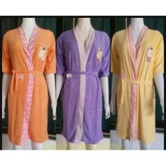baju tidur kimono handuk jumbo, piyama kimono polos murah xl, xxl, big size, dewasa grosir murah