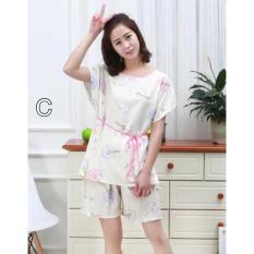 Baju Tidur Murah Sleepwear Set 521 Piyama Wanita Katun Dewasa Nikah