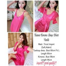 Baju Tidur Wanita Fashionable - Kimono Triana Pink