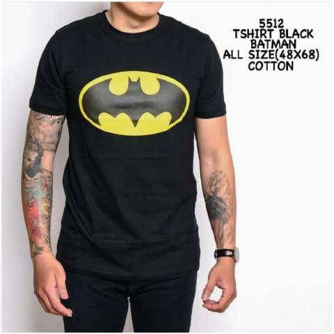 t shirt batman black 5512 jagoan jawara sweater kaos pria tangan pendek  kaos . d5f5b65461