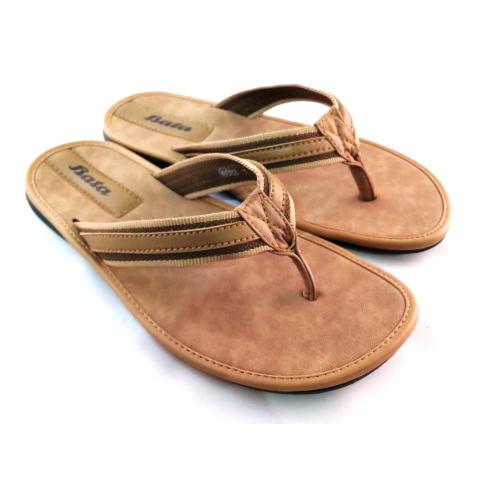 Bata Sandal Pria Kulit Keren 871 4311 Coklat Cek Harga Terkini dan Source · Bata Sandal Pria Keren 871 8084 Cream