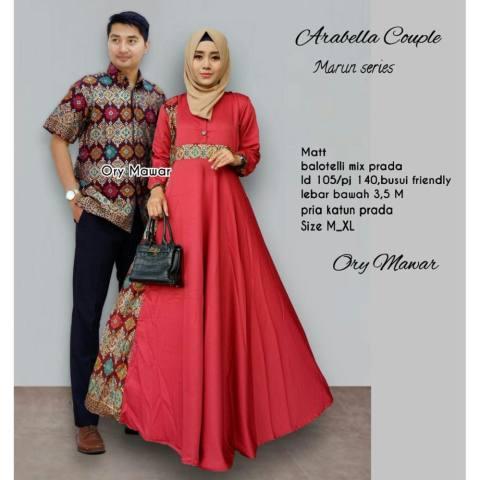 TERMURAH – Baju Batik Couple - Kebaya Couple Modern - Couple Batik – Batik  Sarimbit - c20ebfac92
