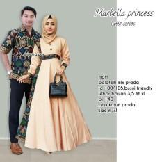 Batik Couple / Couple Batik / Batik Sarimbit Marbella Princess Couple