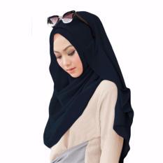 Belle Hijab Kerudung Instan - [Warna Dongker]