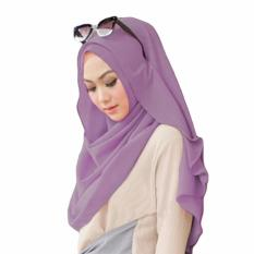 Belle Hijab Kerudung Instan - [Warna Lavender]