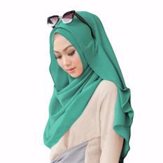 Belle Hijab Kerudung Instan - [Warna Toska]