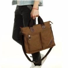 Berchirly Business Briefcase Casual Messenger Bag Men Shoulder Bag Laptop Bag Sling Canvas Bag MSA26U (Color:As First Picture)