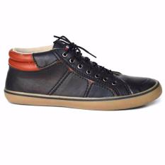 Black Master Geox Sepatu Sneakers Pria black