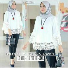 Blouse Baju Atasan Wanita Muslim Azka Top