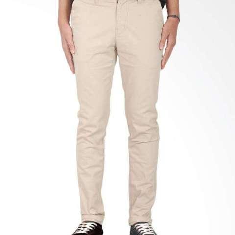 ... BHL Celana Panjang Pria Cino Super Premium Skinny Sliem Cream
